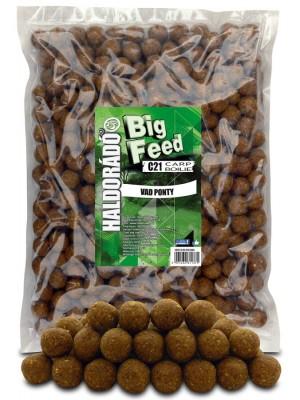 Haldorádó Big Feed - C21 Boilie 2500 g - Divoký Kapr