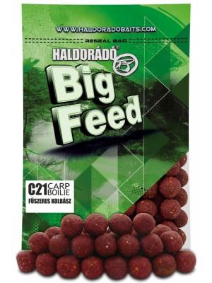 Haldorádó Big Feed - C21 Boilie - Kořenitá Klobása