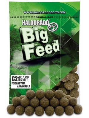 Haldorádó Big Feed - C21 Boilie - Cesnak a Mandle