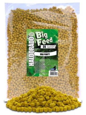 Haldorádó Big Feed - C6 Pellet 2500 g - Divoký Kapr