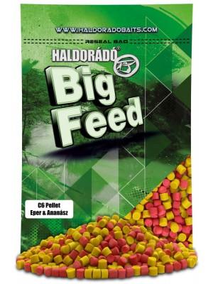 Haldorádó Big Feed - C6 Pellet - Jahoda a Ananás
