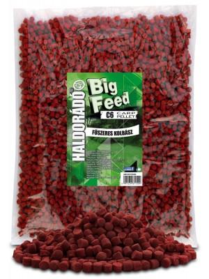 Haldorádó Big Feed - C6 Pellet 2500 g - Kořenitá Klobása
