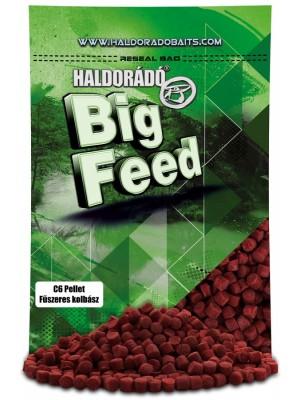 Haldorádó Big Feed - C6 Pellet - Kořenitá Klobása