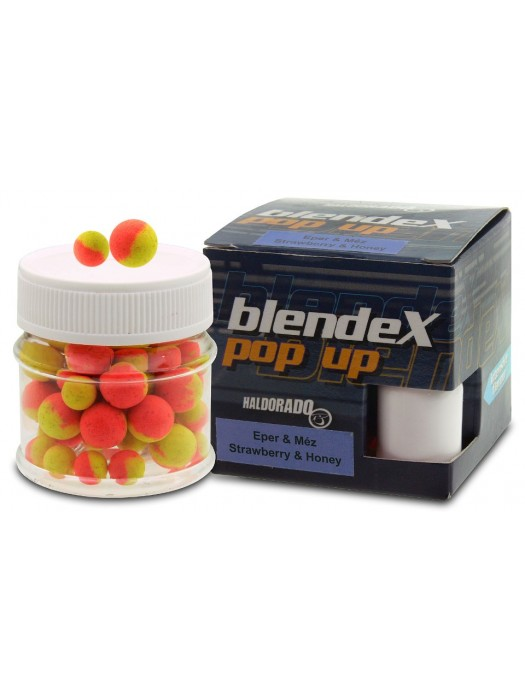 Haldorádó BlendeX Pop Up Method 8, 10 mm - Jahoda a Med
