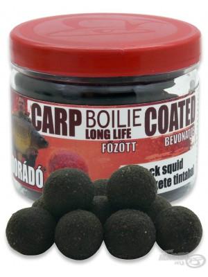 Haldorádó Carp Boilie Long Life Coated - Black Squid (Černý Kalamář)