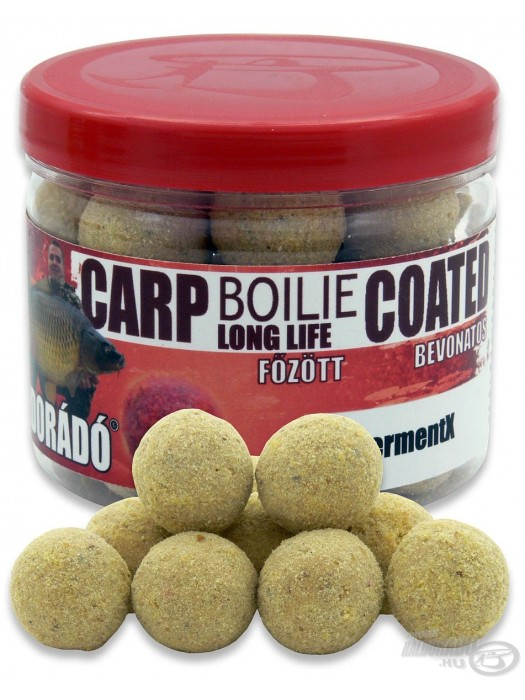 Haldorádó Carp Boilie Long Life Coated - FermentX (Kvašené)
