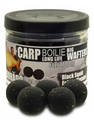 Haldorádó Carp Boilie Big Wafters - Black Squid (Černý Kalamář)