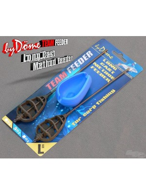 By Döme Team Feeder Long Cast Method Feeder košík -set L 25 g