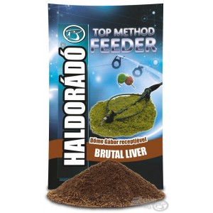 Haldorádó TOP Method Feeder Brutal Liver