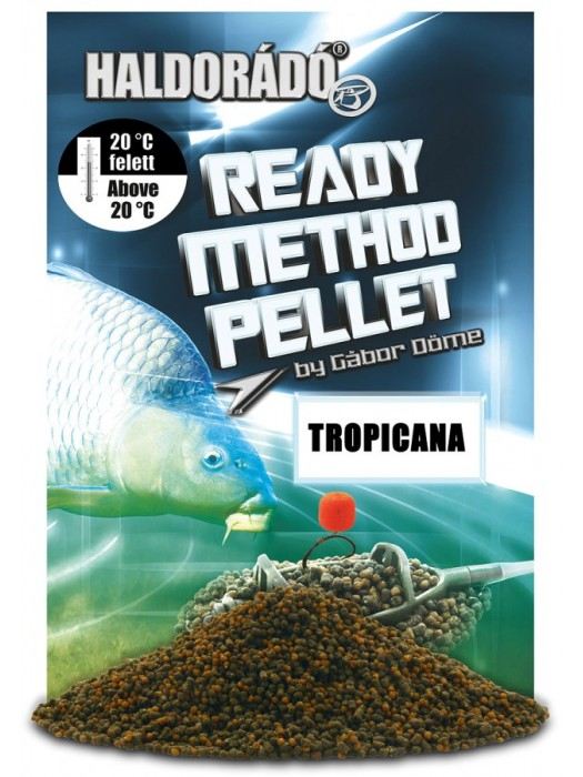 Haldorádó Ready Method Pellet - Tropicana
