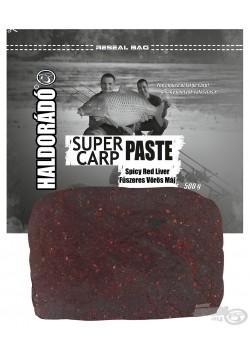 Haldorádó Super Carp Paste - Spicy Red Liver (Kořenitá Červená Játra)