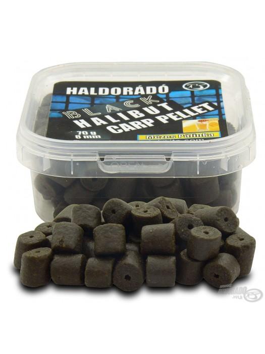 HALDORÁDÓ BLACK HALIBUT CARP PELLET 8 MM - Med-Pálenka
