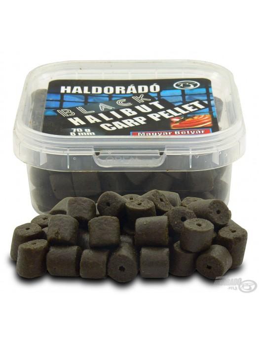 HALDORÁDÓ BLACK HALIBUT CARP PELLET 8 MM - Klobása