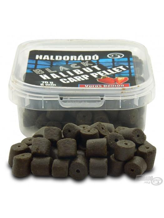 HALDORÁDÓ BLACK HALIBUT CARP PELLET 8 MM - Jahoda