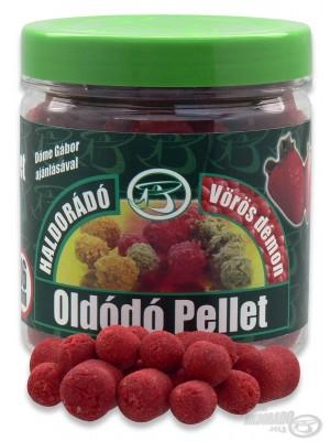 Haldorádó Rozpustný Pelet - Červený ďábel - jahoda