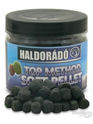 Haldorádó TOP Method Soft Pellet Black Squid (Černý Kalamář)