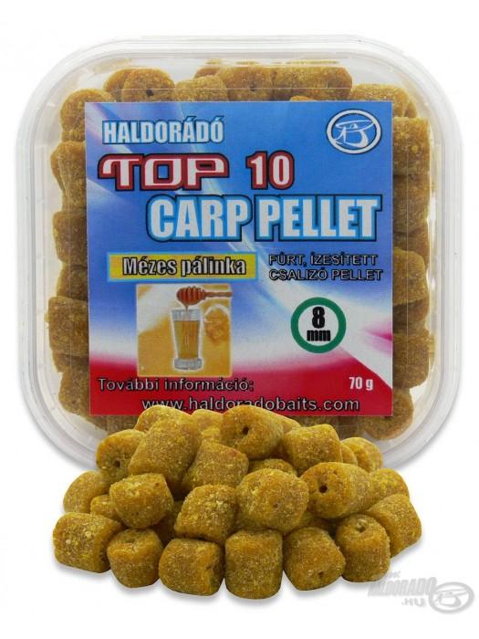 Haldorádó TOP 10 Carp Pellet - Med-Pálenka
