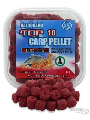 Haldorádó TOP 10 Carp Pellet - Ohnivý Kapr