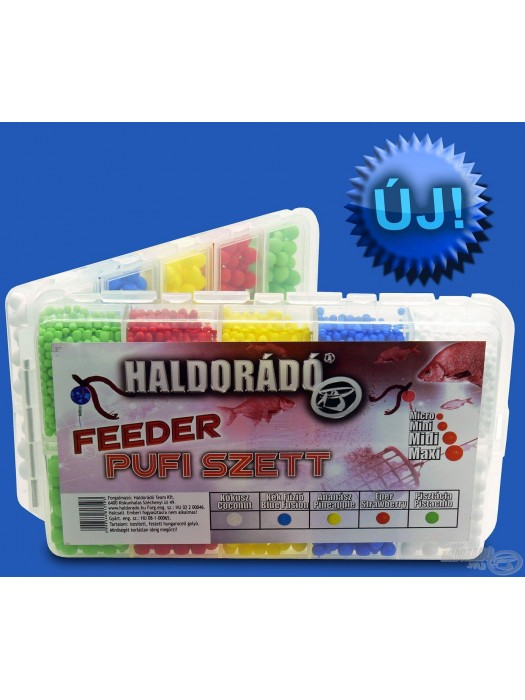 Haldorado Feeder Pufi set