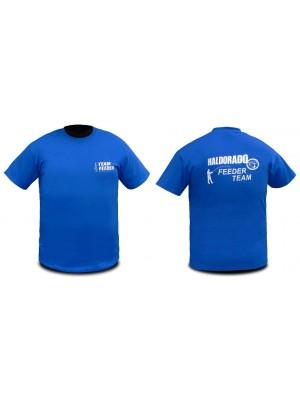 Haldorádó Feeder Team tričko s krátkým rukávem bez límce XXL