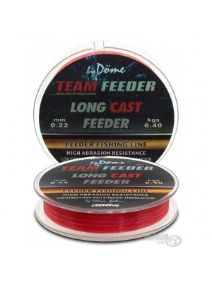 By Döme Team Feeder Long Cast Line 0,20mm / 300m - 5,5 kg