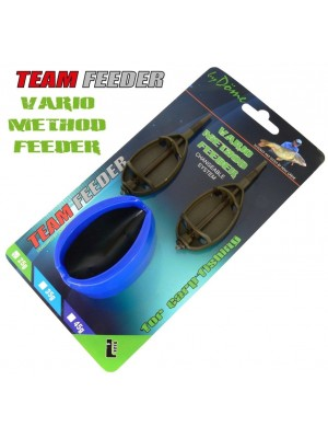By Döme Team Feeder Vario Method Feeder košík -set XL 65 g