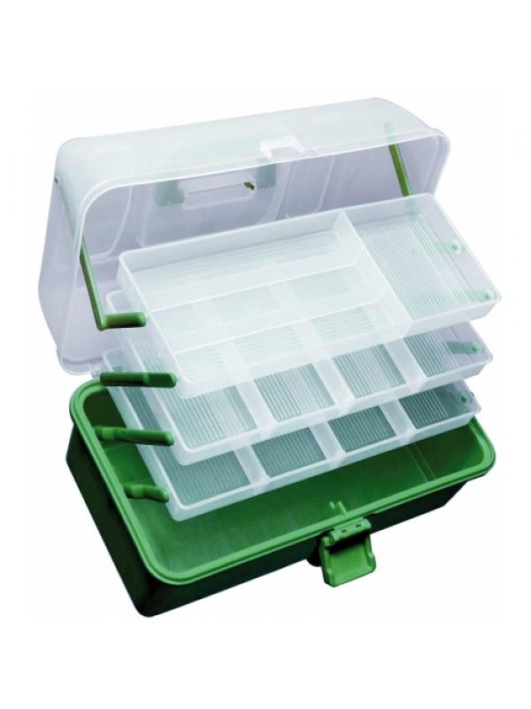 bfe07e1357 Praktické plastové kufříky - 2 patrový