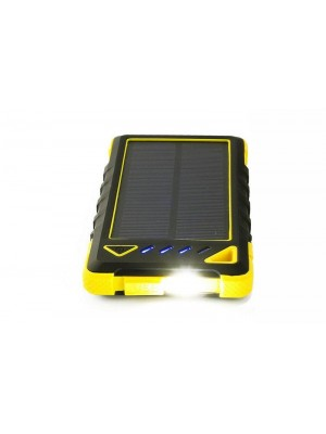 Solární nabíječka na mobil 1W 8000mAh + zabudovaná LED dioda