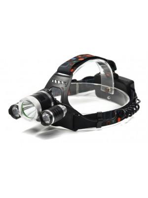 Trixline Sport 10W + 2X3W - dobíjitelná čelovka