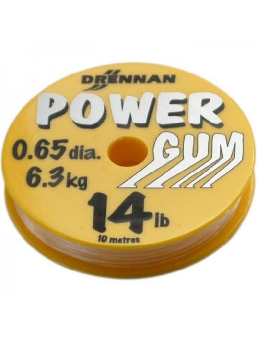 Drennan Power Gum priesvitný 0.65