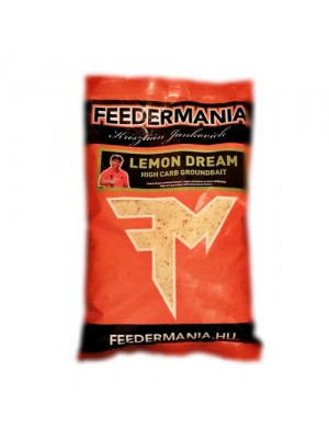 Feeder Mania Groundbait High Carb Lemon Dream