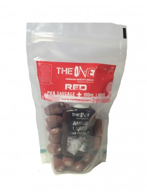 The Red One PVA Sausage + 100ml aroma
